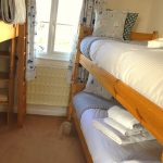Bunk room three beds